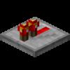Redstone Repeater Block (On)